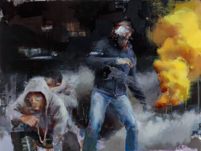 Jérôme Lagarrigue, 'Besieged', 2017