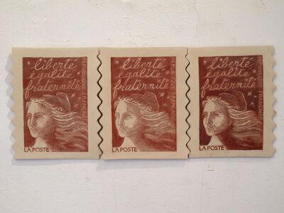 Veljko Zejak, 'Liberte, egalite, fraternite', 2010