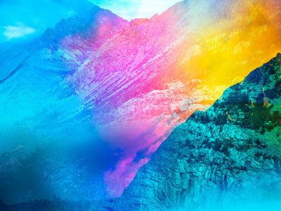 Terri Loewenthal, 'Psychscape 20 (Tioga Peak, CA) 2018', 2018