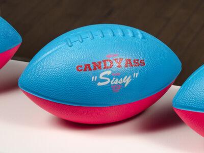 "Cary Leibowitz (""Candy Ass""), 'Official Candyass Class Sissy Football', 1991"