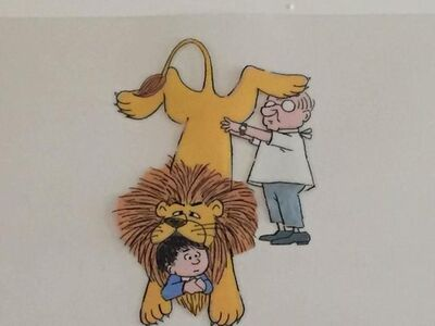 "Maurice Sendak, 'Original Animation Cel from PIERRE, ""I DONT CARE"" (CBS 1970s)', 1970-1979"