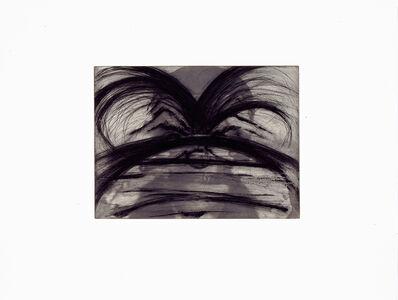 """Arnulf Rainer, 'Beim Zahnarzt (from the portfolio """"Für die Pinakothek der Moderne"""")', 1995"""