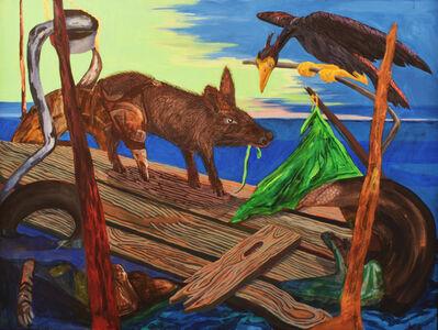 Ke Francis, 'Three Legged Pig and Buzzard', 2016