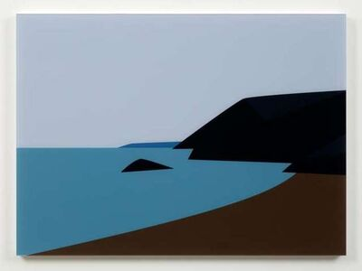 Julian Opie, 'Cornish Coast 2.: Lantic Bay.', 2017