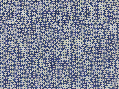 Anni Albers, 'E Heavy Linen in deep blue (287U)', 2019