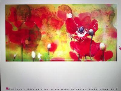 Shahram Karimi, 'Red Poppy', 2019