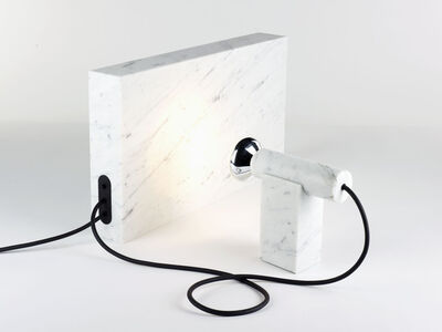 "Camille Blin, '""Marble"" lamp', 2010"