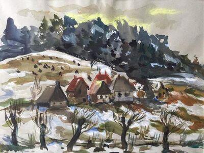Katherine Librowicz, 'European Winter Landscape', 20th Century