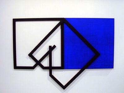 Mehdi Moutashar, 'Trois Carrés', 2002
