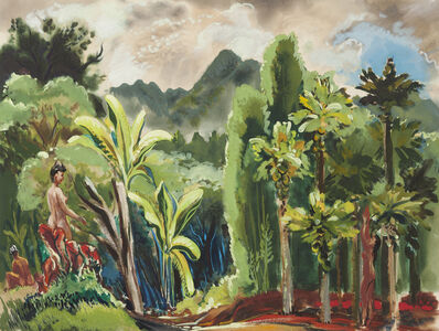 Ben Norris, 'Nudes in Landscape', 1945