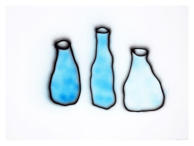 Anne-Lise Coste, 'Morandi (Three Blue Bottles II)', 2014