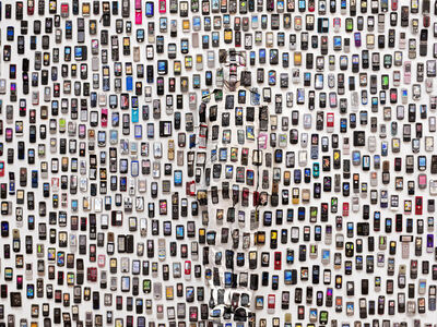 Liu Bolin, 'Hiding in the City - Mobile Phone', 2012