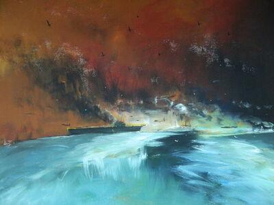 """Konstantin Batynkov, '""""In the harbor"""" 6', 2013"""