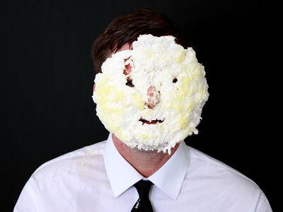 Joe Nanashe, 'Untitled Self-Portrait with Banana Cream Pie 2', 2016
