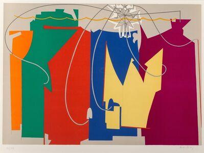 Man Ray, 'Rope Dancer Accompanies Herself with her Shadows', 1972