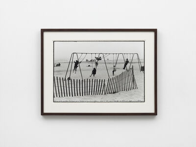 Ed Templeton, 'Pismo Beach, CA, 2017 (swings, fence)', 2019