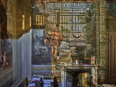 Abelardo Morell, 'Camera Obscura: View of the Florence Duomo in Tuscany President's Office in Palazzo Strozzi, Sacrati, Italy', 2017