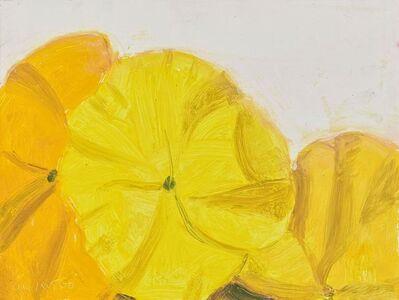 Alex Katz, 'Pansies', 2000