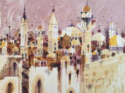 Shmuel Katz, 'City of Jerusalem', 20th Century