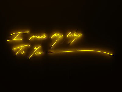 Tracey Emin, 'I Made My Way To You', 2020