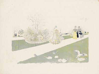 Édouard Vuillard, 'Le Jardin des Tuileries', 1896