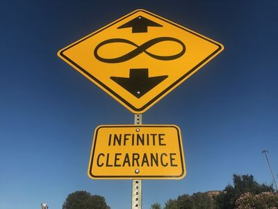"""Scott Froschauer, '""""Infinite Clearance"""" - Contemporary Street Sign Sculpture', 2017"""