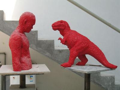 Sui Jianguo, 'Torso and Dinosaur'