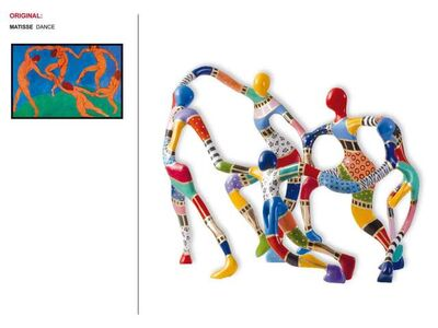 Dorit Levinstein, 'Matisse Dancers', 2014