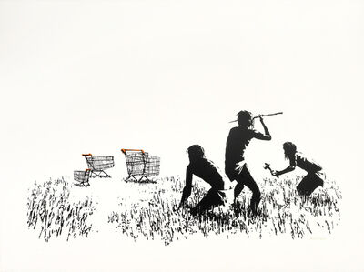 Banksy, 'Trolley Hunters (Unsigned)', 2006