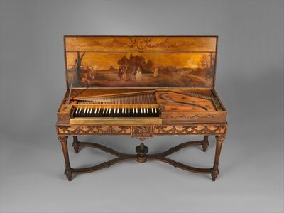 Attributed to Christian Kintzing, 'Clavichord', 1763