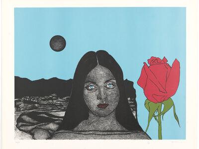 Paul van Hoeydonck, 'Pamela's Dream and Red Roses'