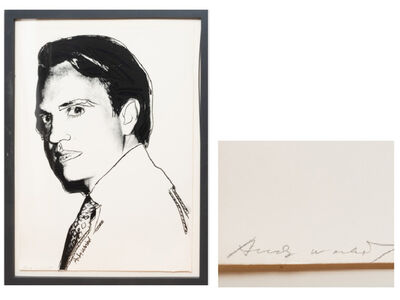 "Andy Warhol, '""Carter Burden"", Screen Print SIGNED in Pencil Apart from the Edition of 200.', 1977"