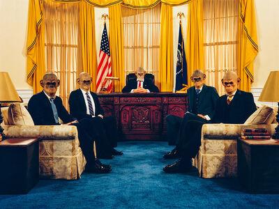 Tyler Shields, 'Oval Office', 2020