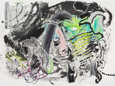 Wu Jian'an 邬建安, '500 Brushstrokes #65 五百笔 #65', 2019