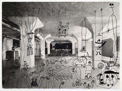 Karl Haendel, 'Covid Dance Party 1 (Brandshof, Hamburg)', 2020