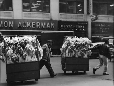 Lida Moser, 'Garment Center, New York City', 1960