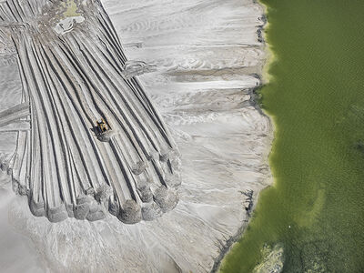 Edward Burtynsky, 'Phosphor Tailings Pond #4, 2012, 100 x 132 cm, 8/9', 2012
