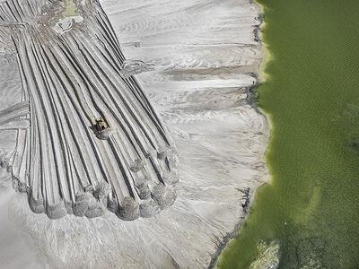 Edward Burtynsky, 'Phosphor Tailings Pond #4, 2012, 100 x 132 cm, 8/9', 2012