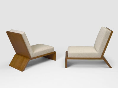 Jean Royère, 'Pair of low chairs', 1936