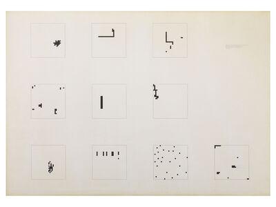 Alighiero Boetti, 'Mille (32x32-24)', 1974