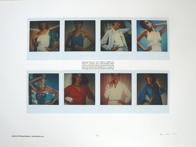 Robert Heinecken, 'Lessons in Posing Subjects: (Hand/Hip Errors)', 1982