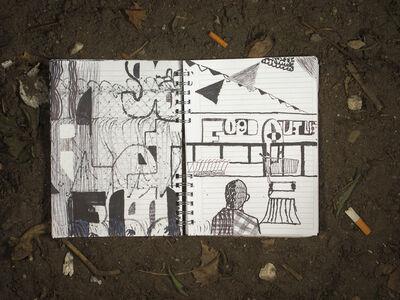 Matt Bollinger, 'The House on Weirdfield Street, Notebook 2', 2015