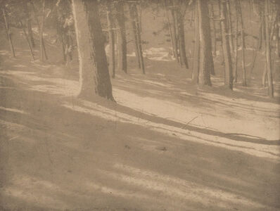 Alvin Langdon Coburn, 'Winter Shadows; Mother and Child - A Study (two photogravures)', 1903; 1904