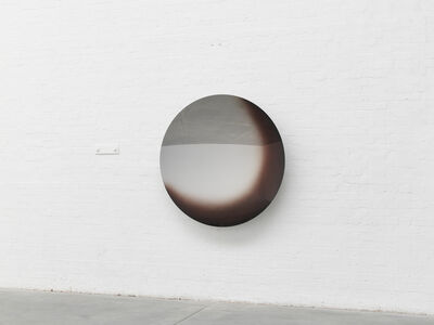 Anish Kapoor, 'Mirror (Black Mist over Apple Magenta mix 2)', 2019