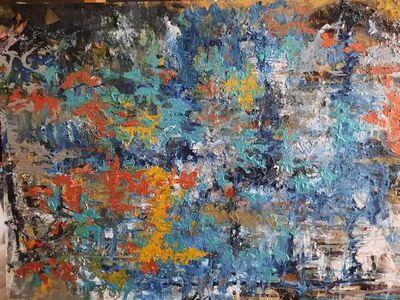 Maria Grazia Zanetti, 'Virtuosismi in blu', 2021
