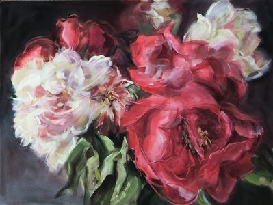 Jamie Evrard, 'Bouquet with Red Peonies', 2019