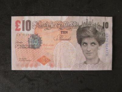 Banksy, 'Di-Faced Tenner', 2004