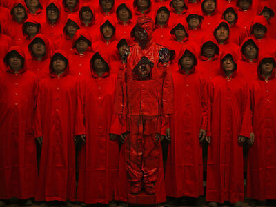 Liu Bolin, 'Red No. 1', 2012