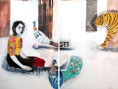 Dominique Fortin, 'Mon Tigre', 2018