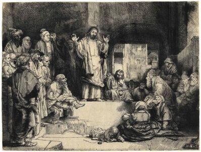 Rembrandt van Rijn, 'La Petite Tombe', ca. 1657